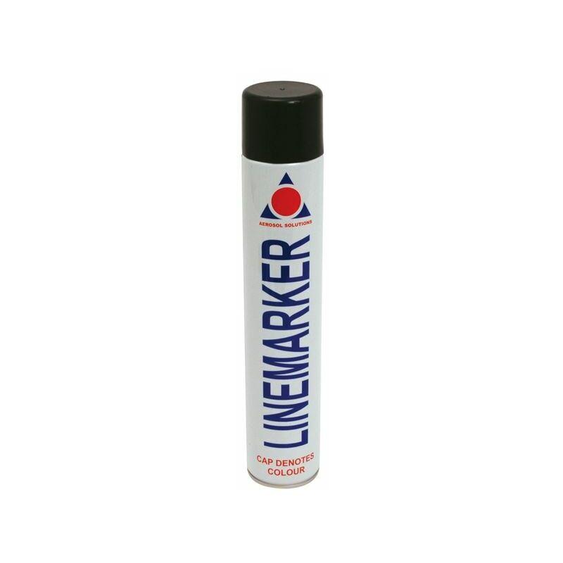 Image of 0906 Line Marking Spray Paint Black 750ml (AERLMPBK)