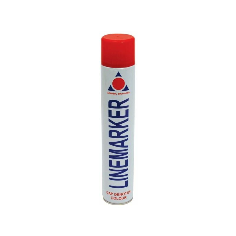 Image of 0902 Line Marking Spray Paint Red 750ml (AERLMPR)