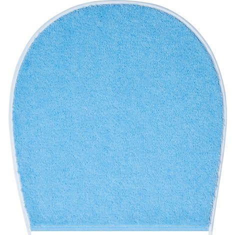 Spirella Uni Electric Blau WC Bezug Deckelbezug 47x50 cm.
