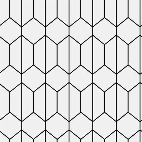 Linear Geometric Wallpaper Arthouse Black White Tile Effect Modern