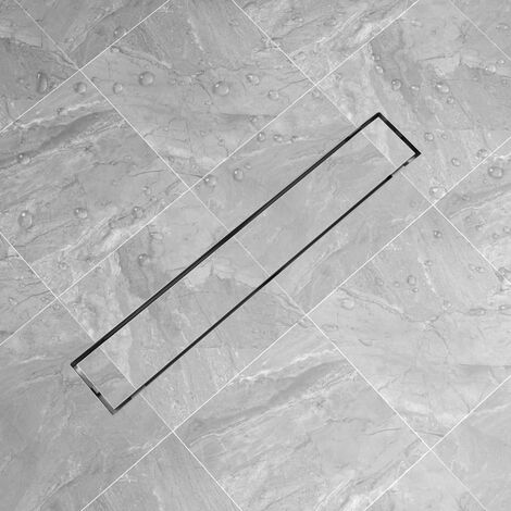 Linear Shower Drain 730x140 mm Stainless Steel