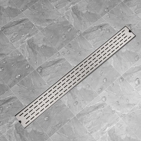Linear Shower Drain Line 1030x140 mm Stainless Steel