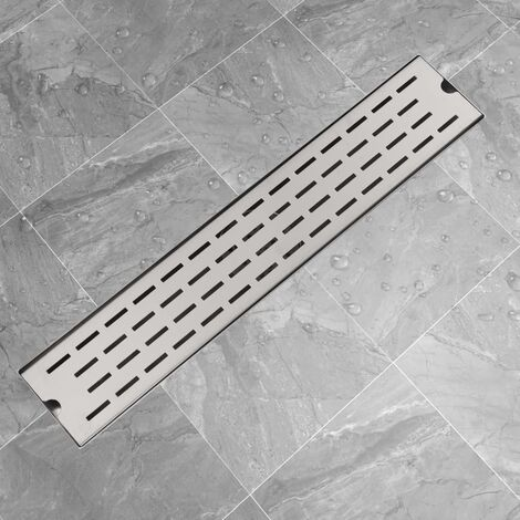 Linear Shower Drain Line 630x140 mm Stainless Steel