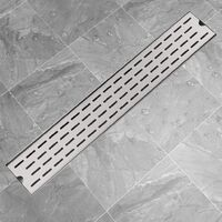 Linear Shower Drain Line 730x140 mm Stainless Steel
