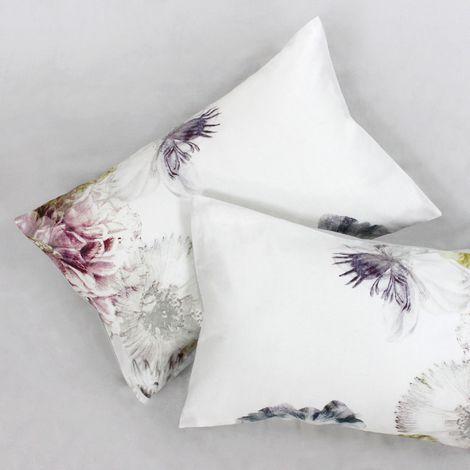Linen House Ellaria Housewife Pillowcase Pair (50 x 75cm) (Multicoloured)