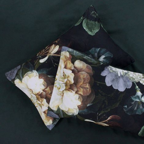 Linen House Winona Housewife Pillowcase Pair (50 x 75cm) (Ivy Green)
