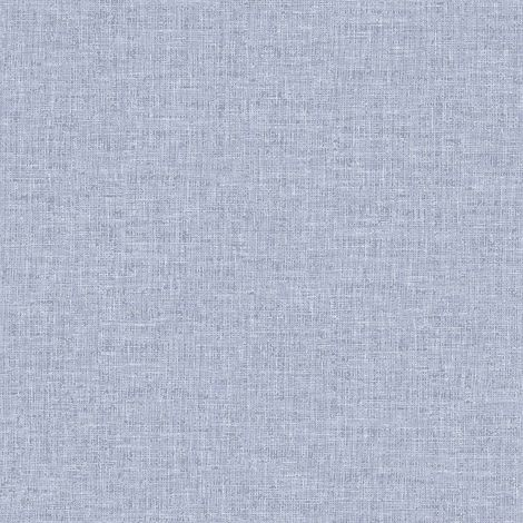 Linen Texture Denim Blue Wallpaper Woven Effect Modern Feature Luxury Arthouse