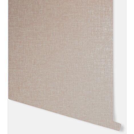 Linen Texture Rose Pink Wallpaper - Arthouse - 907606