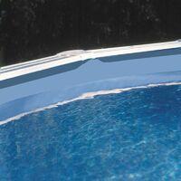 Liner 0,40 + jonc d'accrochage pour Piscine ronde D550 H132 cm