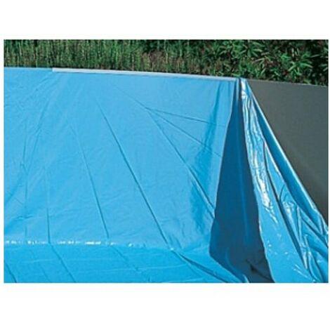 Liner 50/100 piscine hors sol Ovale 7.30x3.70m H 1.20/1.32m overlap