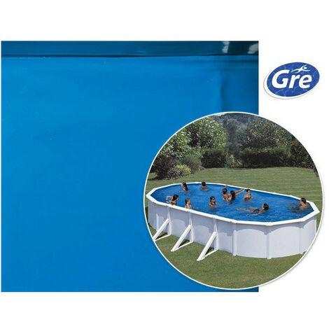 Liner Bleu Pour Piscine Ovale 610 x 375 x 120