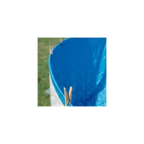 LINER PISCINAS GRE OVALADO 730X375X130 ESPESOR 60/100
