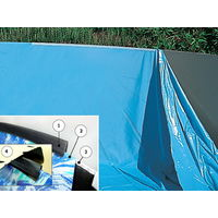 Liner piscine Toi SWIMPOOL ronde Ø350 x 120cm bleu
