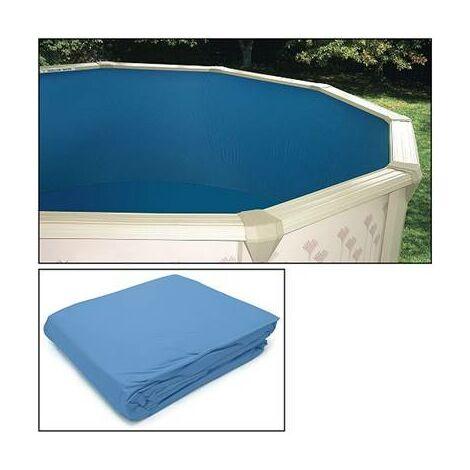 Liner pour piscine hors sol diametre 5.50 m 50/100 ieme