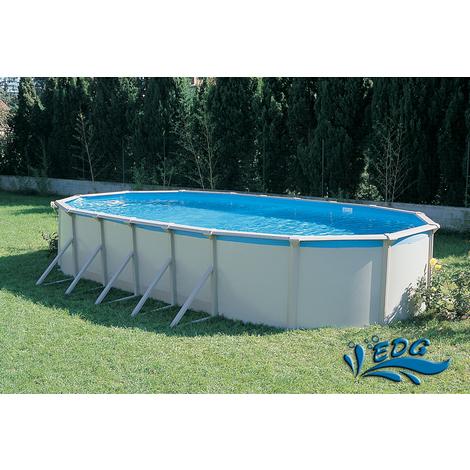 piscine hors sol ronde Viriat