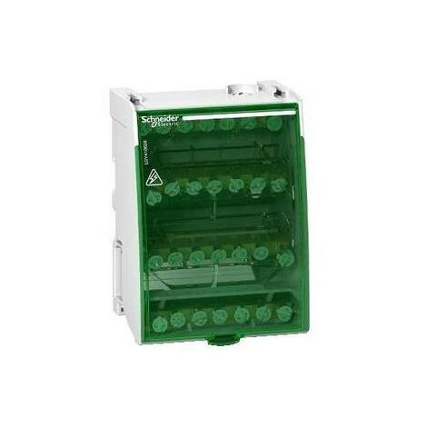 Linergy DS, répartiteur étagé tetrapolaire 100 A 4x7 trous (LGY410028)