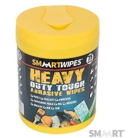 Lingettes abrasives ultrarésistantes pour travaux intensifs - 75 lingettes, Boîte de 75 lingettes