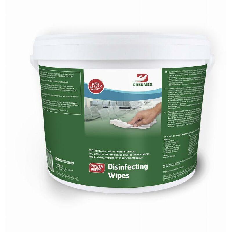 Marque - Lingettes désinfectantes DREUMEX - seau de 800 - 66708001001