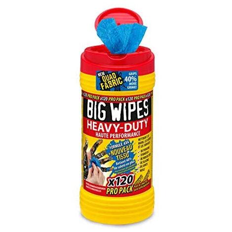 Lingettes Heavy Duty BIG WIPES - boîte de 120 - 6404101