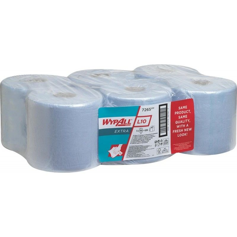 Kimberly-clark - Lingettes WYPALL bleu (Par 6)