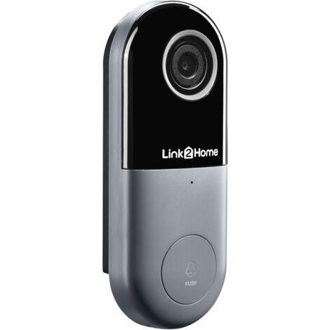 """main image of """"Link2Home LTHBELLW Weatherproof (IP54) Smart Wired Doorbell"""""""