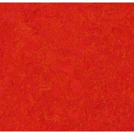 Linoléum Forbo Marmoléum Click Scarlet dalle 30x30cm