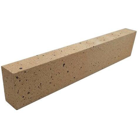 Linteau réfractaire dense 600 x 110 x 60 mm - 40% d'alumine