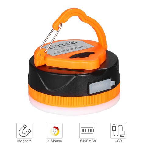 Linterna de camping recargable USB 1600mAh