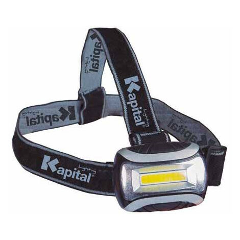Linterna Frontal Led Multimodo 120 Lumens - KAPITAL - Kl120Hl