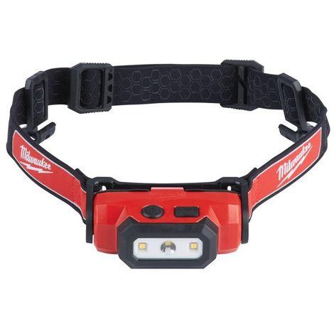 Linterna frontal REDLITHIUM USB, TRUEVIEW™ 475 lúmenes batería y cable USB MILWAUKEE (REGALO JUEGO DESTORNILLADORES) L4HL-201