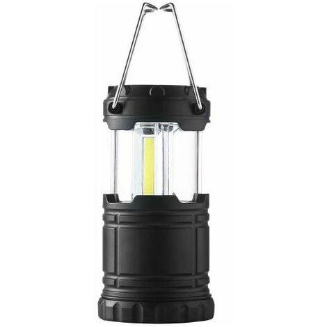 Linterna LED Camping Plegable con Imán IP65 (Pilas AA Incluidas) Blanco Frío 6000K | IluminaShop