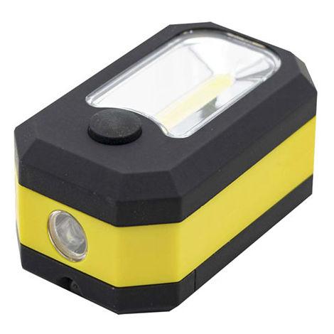 Linterna LED Cubo Multifunción IP65 (Pilas AA Incluidas) Blanco Frío 6000K | IluminaShop