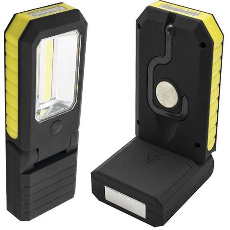 Linterna LED Flex Multifunción IP65 (Pilas AA Incluidas) Blanco Frío 6000K | IluminaShop