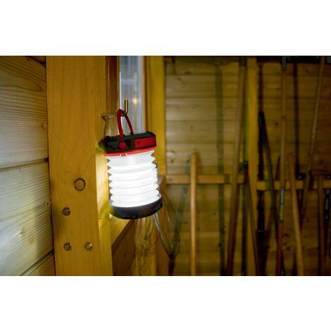 Linterna solar compacta plegable Travel Light Nortene