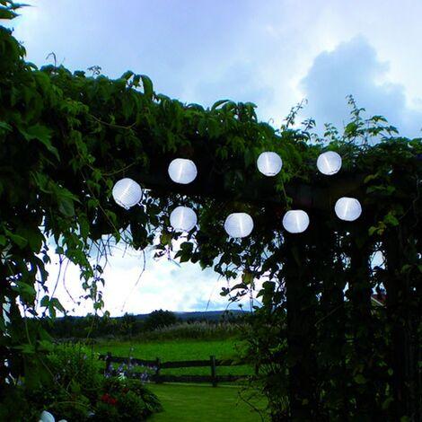 Linterna solar linterna blanca