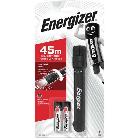 Linterna X-Focus Led con 2 pilas AA ligera, 50 lumenes y con foco ajustable Energizer