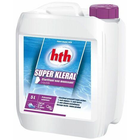 Liquide anti-algues Super Kleral hth 5L -