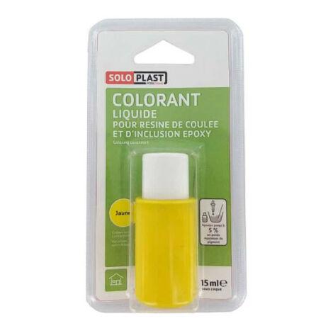 Liquide colorant pour résine SOLOPLAST 15ml jaune - Jaune