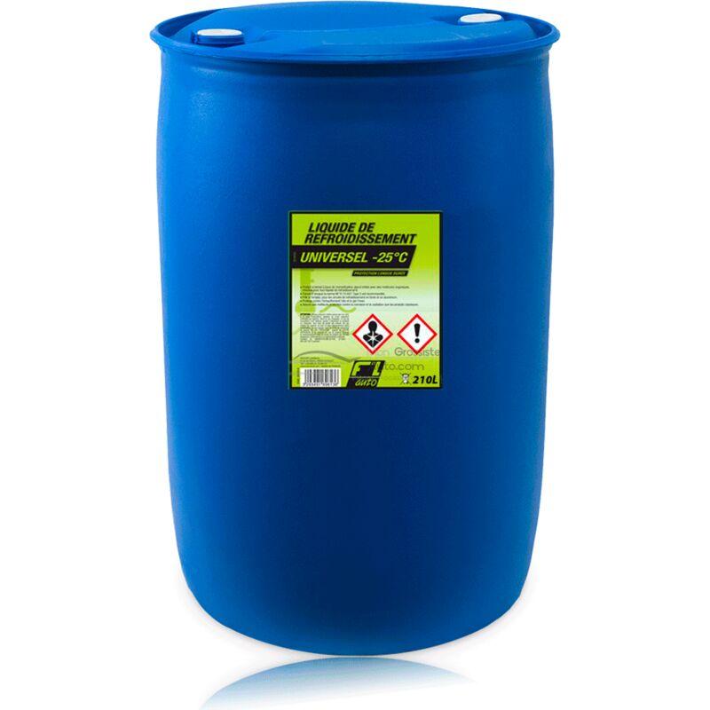 Liquide de refroidissement universel vert - 25C° - 210 L - FL'AUTO