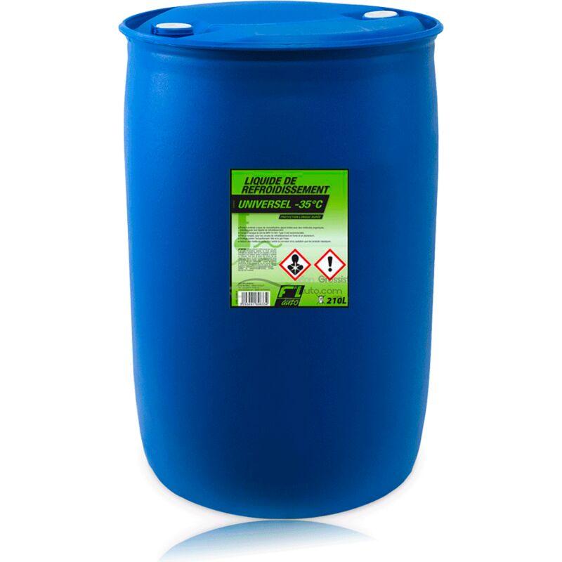 Liquide de refroidissement universel vert -35ºC - 210L - FL'AUTO