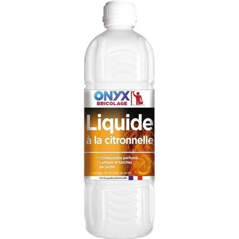 Liquide pour lampe à petrole citronnelle 1litre
