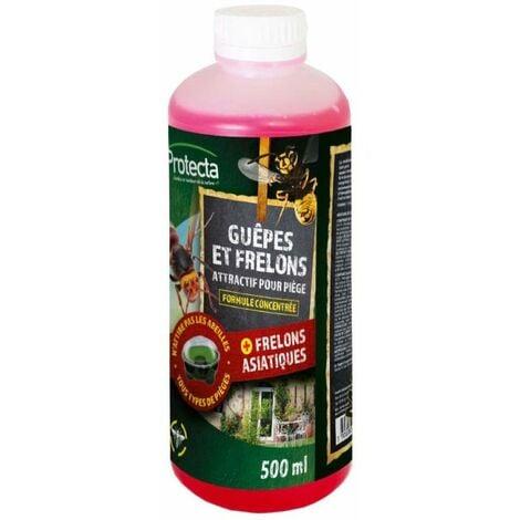 Liquide pour piège guêpes et frelons 500 ml