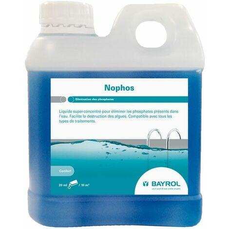 Liquide super-concentré anti-phosphates No Phos Bayrol 1L
