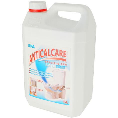 Liquido anticalcare Sanitrit per pulizia trituratori tanica da 5 l