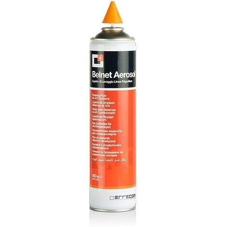 """main image of """"Liquido limpiador para tuberias de aire acondicionado Belnet 600ml con cono."""""""