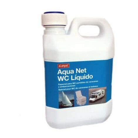 LIQUIDO WC QUIMICOS AQUANET 2 L. 218