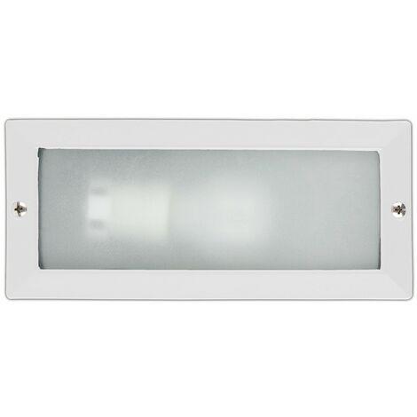 LISO Lámpara empotrable pared - Blanco - Bajo consumo