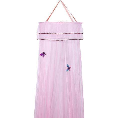 Lit Auvent Moustiquaire chambre Moustiquaire Ronde Luxe Princesse Papillon B