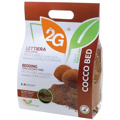 LIT COCCO Literie en fibre de coco pour petits animaux 100% fibres végétales uniquement