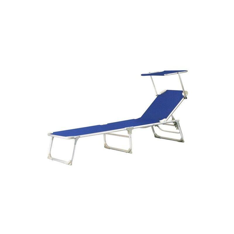 Lit en aluminium Therasia Blue de Lounger Beach